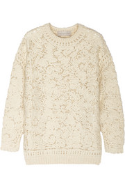 Stella McCartney Crochet-knit sweater