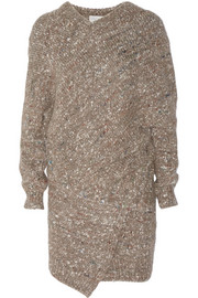 Stella McCartney Chunky-knit wool-blend sweater dress