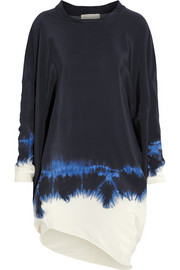 Stella McCartney Tie-dyed silk dress