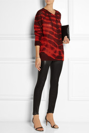Stella McCartney Tie-dye alpaca-blend sweater