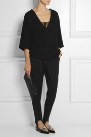 Stella McCartney Wool-twill tapered pants