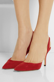 Paul Andrew Suede slingbacks