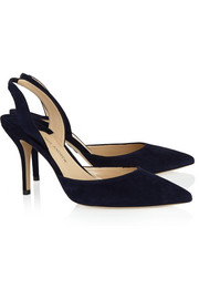 Paul Andrew Suede slingbacks pumps