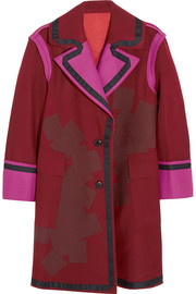 Jonathan Saunders Laurie color-block wool-felt coat