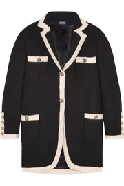 Meadham Kirchhoff Ammon wool-bouclé jacket