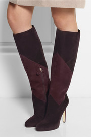 Brian Atwood Nevada suede knee boots