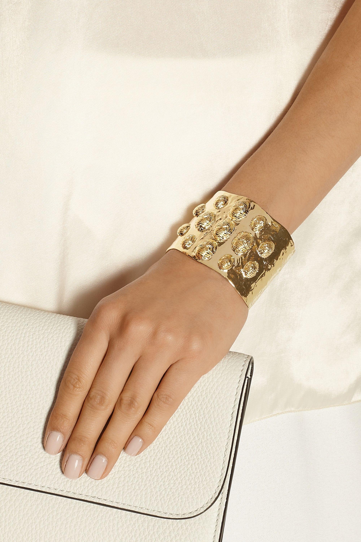 Aurélie Bidermann Concorde gold-plated cuff