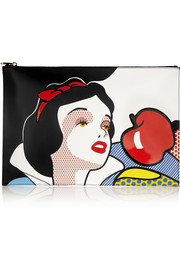 REDValentino Snow White Disney© leather clutch