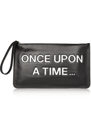 Once Upon A Time leather clutch