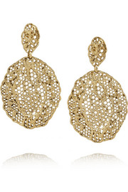 Aurélie Bidermann Gold-plated earrings