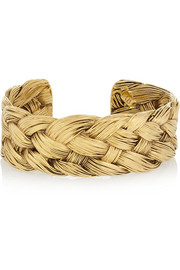Aurélie Bidermann Gold-plated cuff