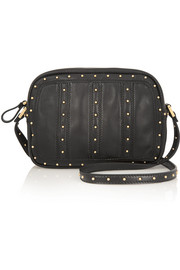 Valentino Dot Com studded leather shoulder bag