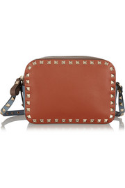 Valentino The Rockstud color-block leather shoulder bag