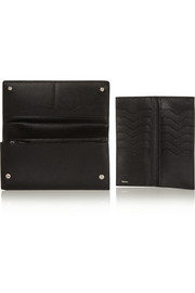Valextra Textured-leather wallet