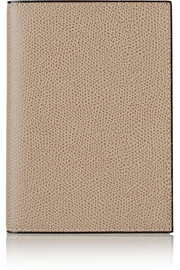 Textured-leather passport cover