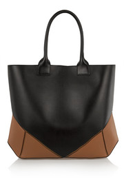 Givenchy Easy tote in black and tan leather