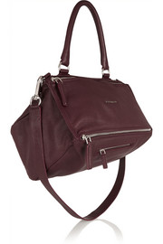 Givenchy Medium Pandora bag in burgundy leather