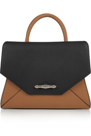 Givenchy Small Obsedia bag in black and tan leather