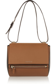 Givenchy Medium Pandora Box bag in tan and black leather