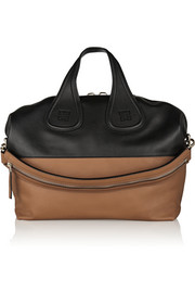 Givenchy Medium Nightingale bag in black and tan leather