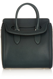 Alexander McQueen The Heroine medium textured-leather tote