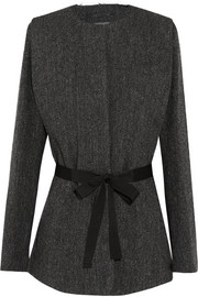 Flo herringbone wool-tweed jacket
