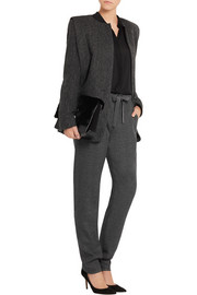 Isabel Marant Idinishow wool straight-leg pants