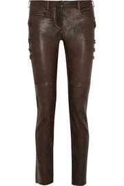 Isabel Marant Haper leather skinny pants