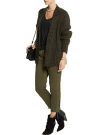 Isabel Marant Jessie cotton-twill slim-leg pants