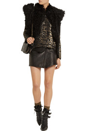 Isabel Marant Fedilon sequined silk-georgette top