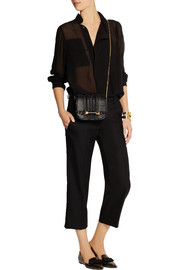 Isabel Marant Cappy silk-georgette top
