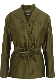 Isabel Marant John cotton-sateen jacket