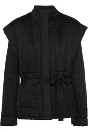 Isabel Marant Heleri quilted cotton jacket