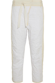 Isabel Marant Hamil quilted cotton wide-leg pants