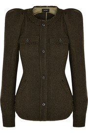 Isabel Marant Florent herringbone wool-tweed jacket