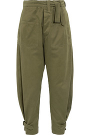 Isabel Marant Jepson cotton-sateen tapered pants