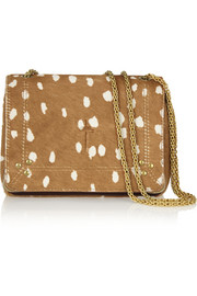 Jérôme Dreyfuss Eliot printed calf hair and leather shoulder bag