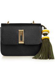 Anya Hindmarch Architectural leather tassel keychain