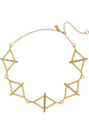 Pamela Love Multi-Balance gold-tone necklace