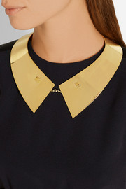 Maiyet Gold-plated collar necklace