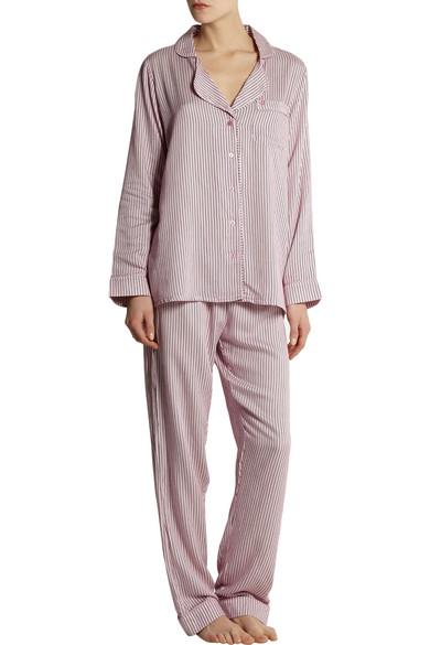 9dac70afe4 Striped jersey pajama set