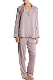 Calvin Klein Underwear Striped jersey pajama set
