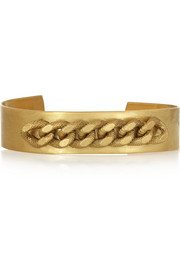 Finds + Ela Stone Alexander gold-plated cuff