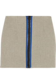 Opening Ceremony Scuba wool-blend mini skirt