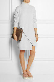 Opening Ceremony Zip-detailed ribbed wool sweater dress