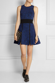 Opening Ceremony Jacquard-knit mini dress