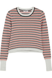 Opening Ceremony Striped jacquard-knit sweater