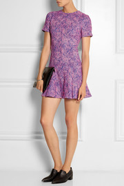Opening Ceremony Loop jacquard-knit mini dress
