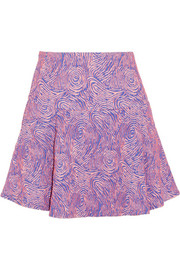 Opening Ceremony Swirl jacquard-knit mini skirt