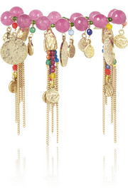 Rosantica Everest gold-dipped multi-stone bracelet